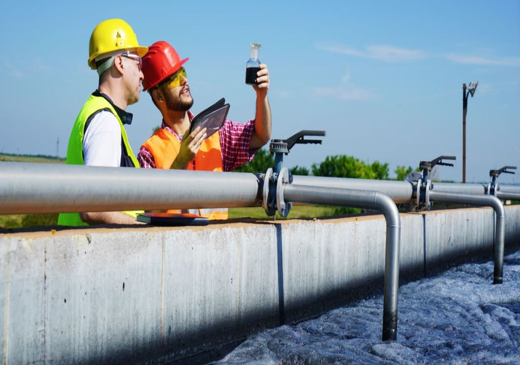 Researchers can detect COVID-19 in wastewater.