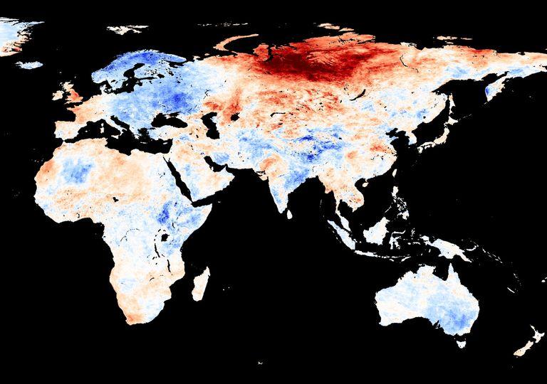 Onda de calor Sibéria
