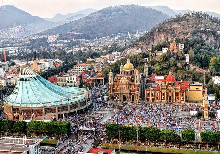 En 2018 se reportaron más de 10 millones 603 mil peregrinos a la Basílica de Guadalupe. Fotografía: Best