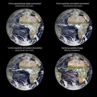 Simulaciones meteorológicas y climáticas globales a 1 km por el ECMWF