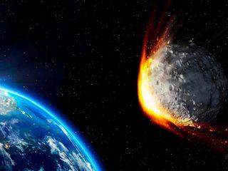 Simulan el impacto de un asteroide en la Tierra