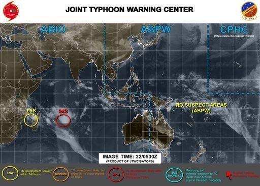 """Sin ciclones tropicales nombrados a nivel global, otros """"vigilados"""""""