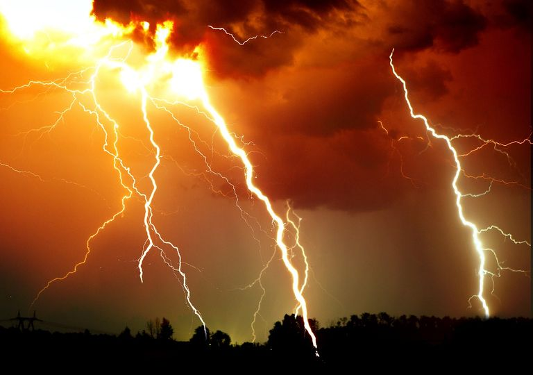 Julio con tormentas