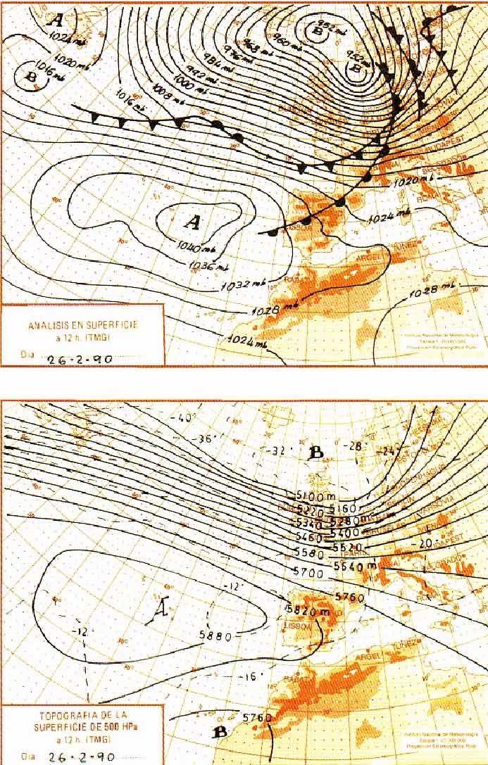 Situaciones Meteorológicas Para El Recuerdo
