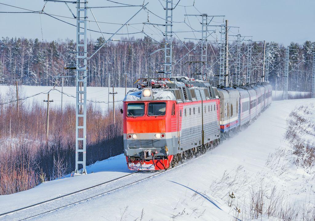 Snow in Valdivostok.