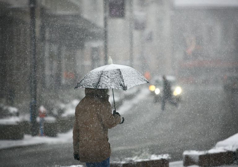A soggy start with outbreaks of rain which will fall as sleet and snow across northern Britain. Sleet and snow will continue across Scotland for much of the week.