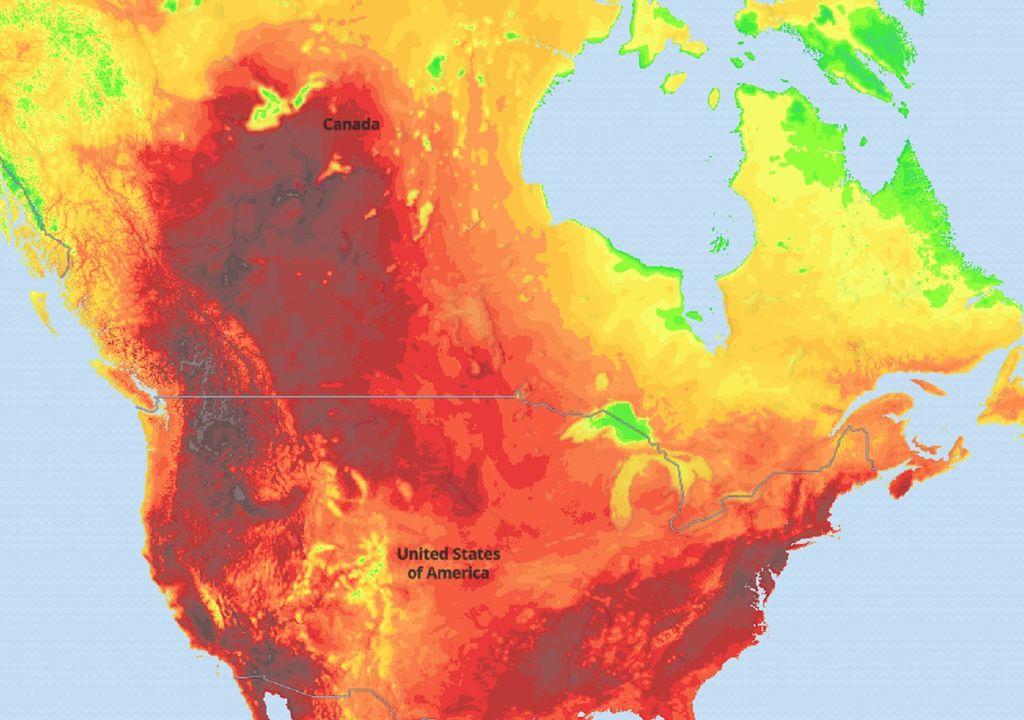 ola de calor; altas temperaturas; ecmwf