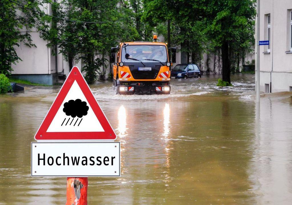 Hochwasser im Tropensommer