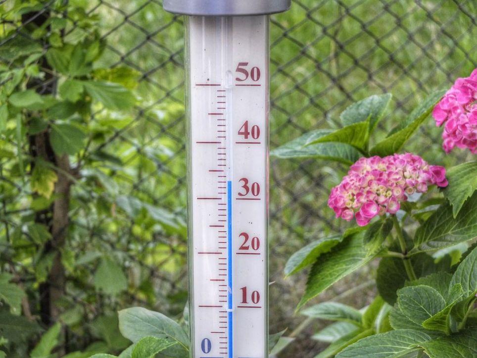 Der Sonntag wird heiß
