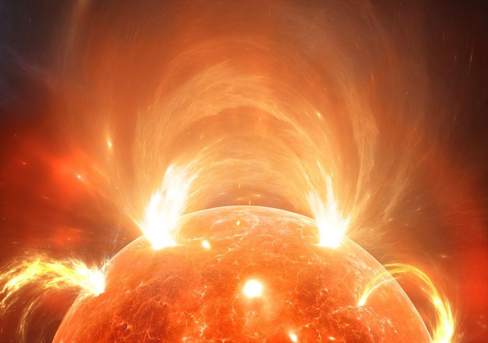 Sonnenoberfläche