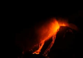 El espectáculo del Etna: todos los videos de la más reciente erupción