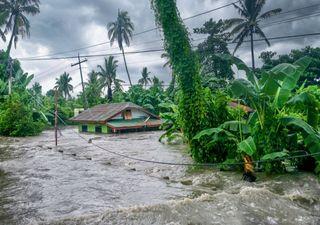 Starkregen ist über die Kontinente hinweg miteinander verbunden!