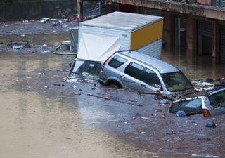 Storici record di pioggia in Liguria: 740,6 mm in 12 ore