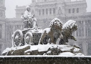 Storm Filomena: torrential rain and heavy snow in Spain