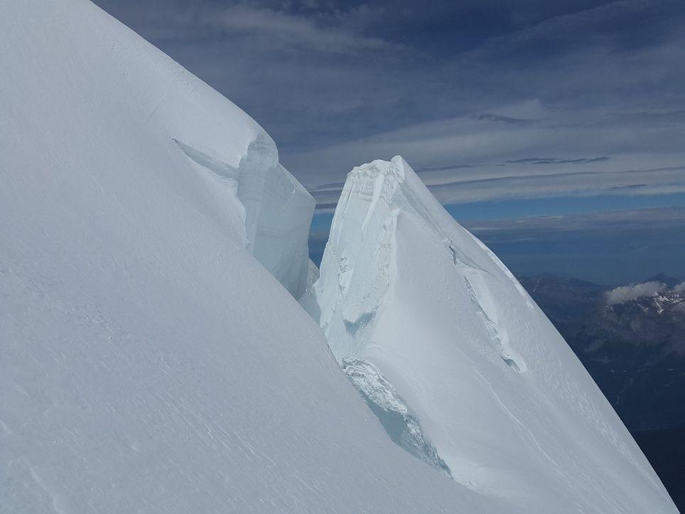 Wegen Klimawandel: Dieser große Gletscher droht einzustürzen!