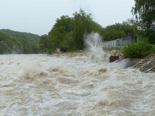 Sturzflutgefahr durch Unwetterlage am Wochenende!