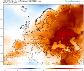 Subida de temperaturas para el inicio de semana ¿por qué?
