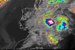 Suelos secos pueden intensificar los sistemas convectivos