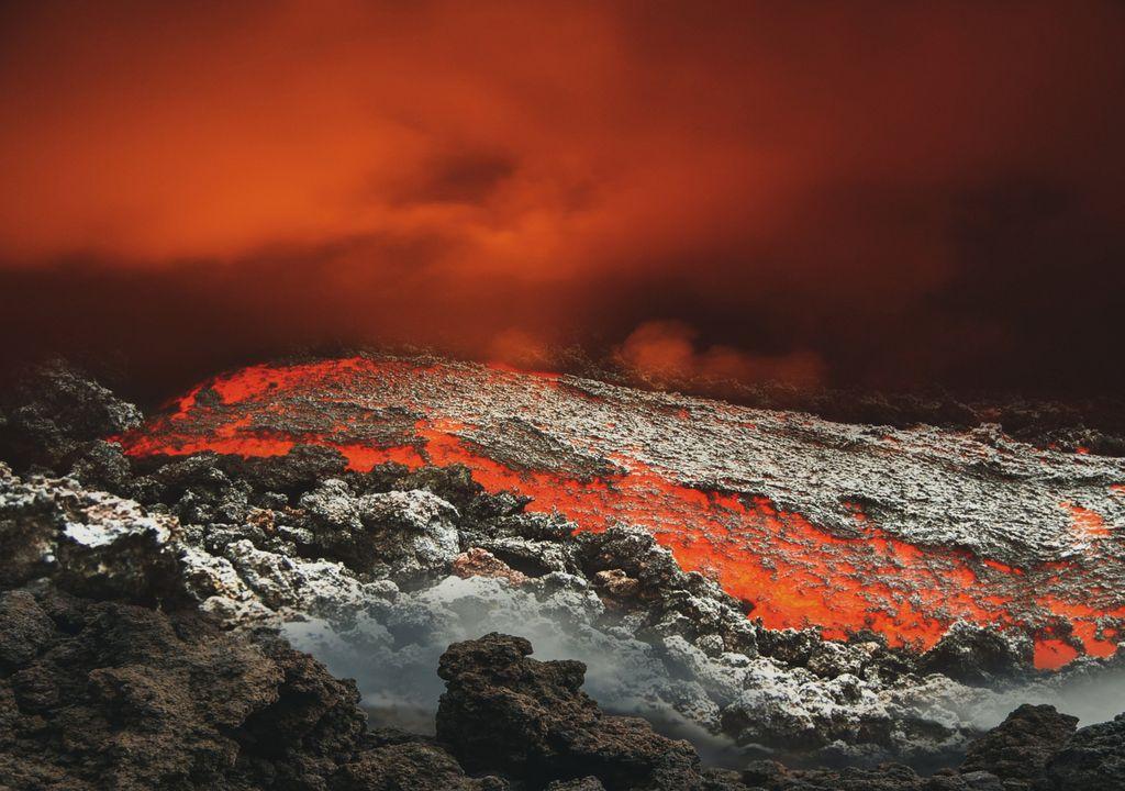 Supervulcão descoberto no Alasca 1