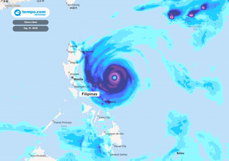 Surigae pode ser o primeiro Tufão do Pacífico em 2021