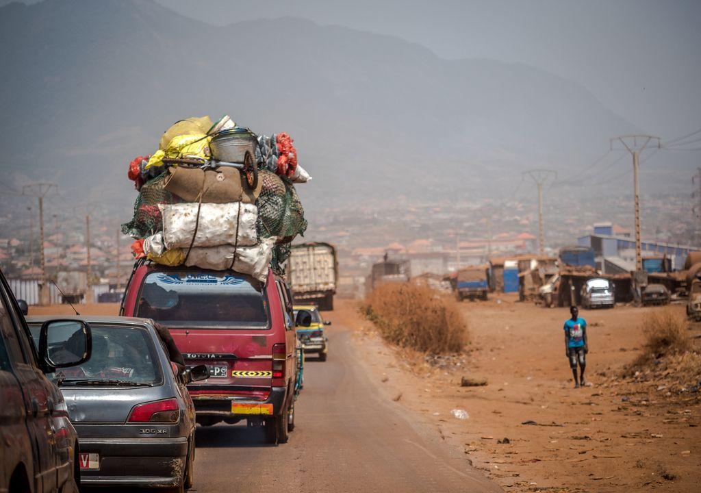 Afrique pollution