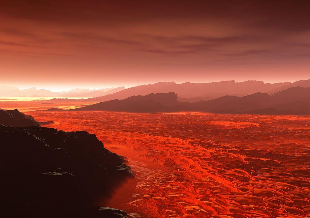 alien lava river