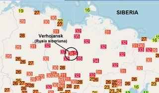Temperatura récord de 38 ° C al norte del Círculo Polar Ártico