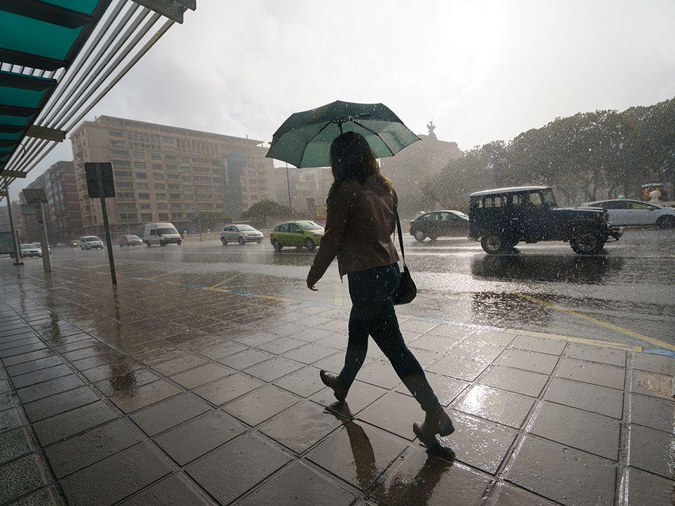 lluvia otoño