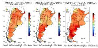Temperaturas record en la Patagonia