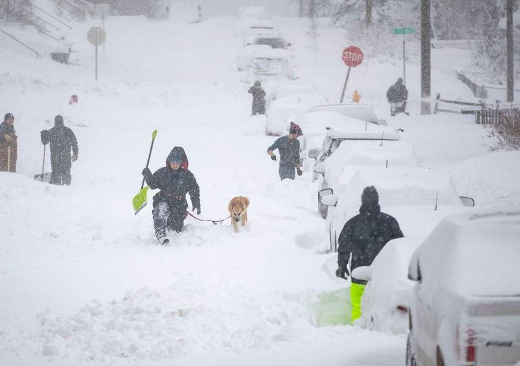 Tempestade, Neve, EUA