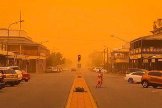 Tempestade de poeira causa alerta de saúde no leste da Austrália