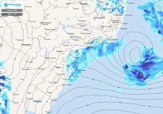 Tempestade Potira: tempo instável e mar agitado nos próximos dias