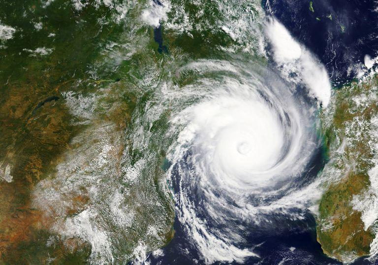Un ciclón tropical.