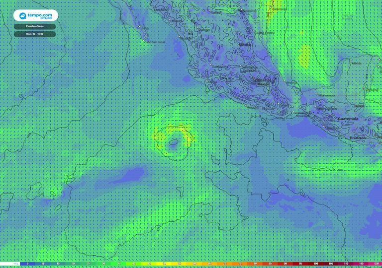 tempestade tropical andres