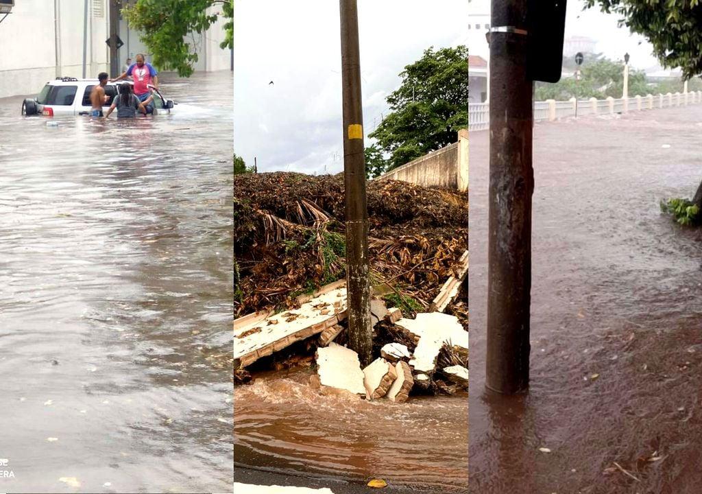 Tempestades severas causam alagamentos em São Paulo