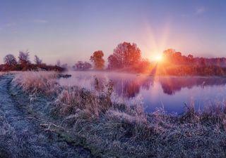 Tempo esta semana: o anticiclone traz sol e muito frio!