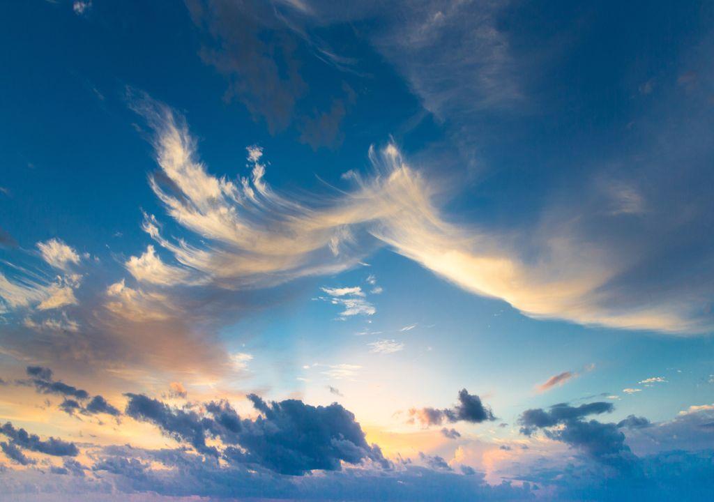 Céu enublado