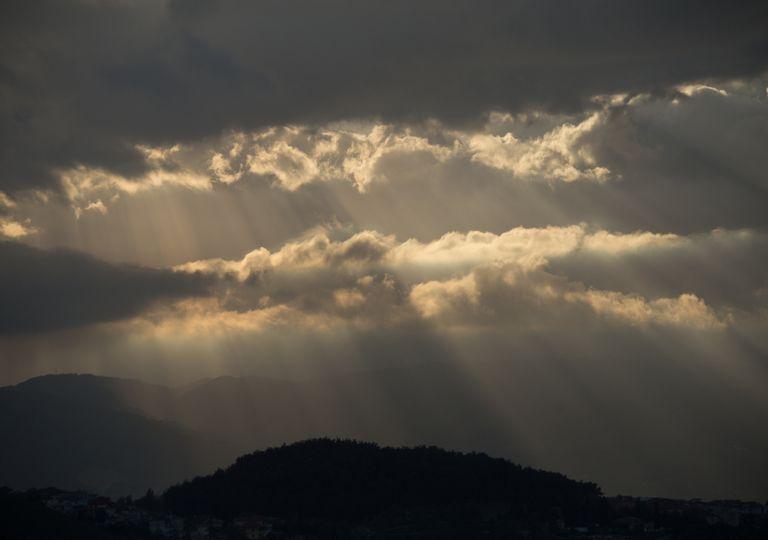 aguaceiros convectivos; chuva; trovoada; primavera