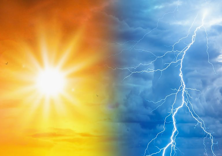 Sol e tempestade