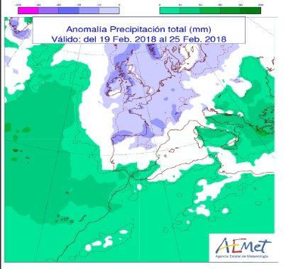 Temporal Atlántico De Viento Y Lluvia A La Vista