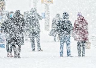 Un potente temporal invernal llegará este fin de semana