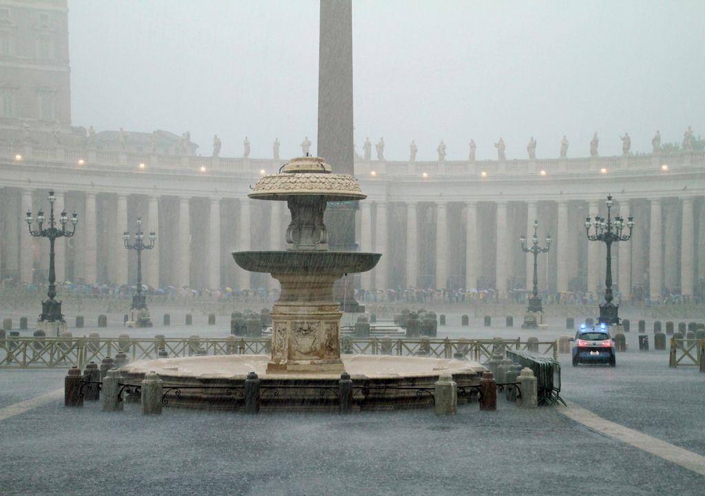 nubifragio Roma