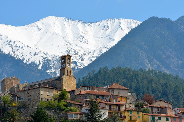Neige Pyrénées-Orientales