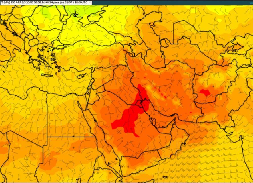 La Organización Meteorológica Mundial (OMM) ha realizado una verificación oficial de las temperaturas extremas sin precedentes: 3º y 4º en la Tierra