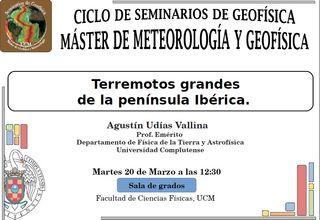 Terremotos grandes de la península Ibérica