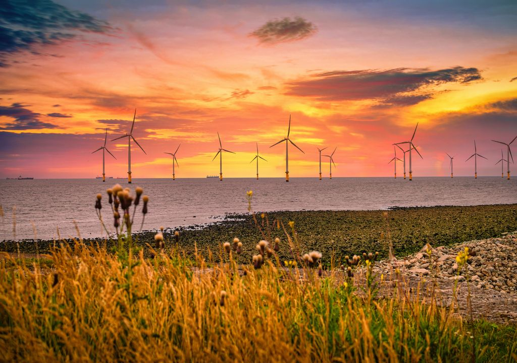 The UK has more offshore wind energy than any other country in the world.