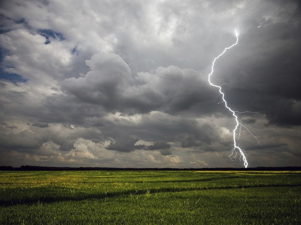 Thunderstorms are forecasted for the UK.
