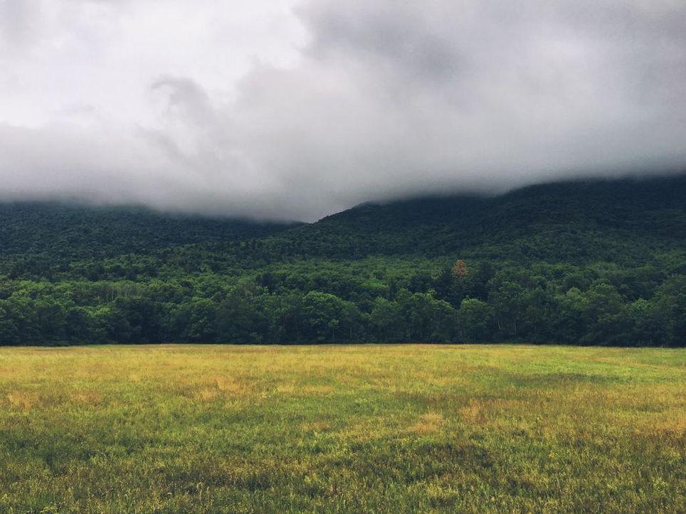 cloudy scene