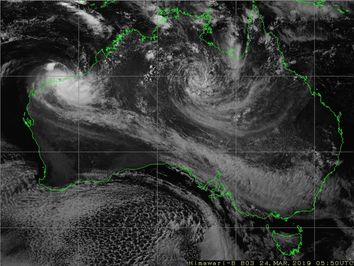 A tale of two hurricanes: Australia's twin cyclones