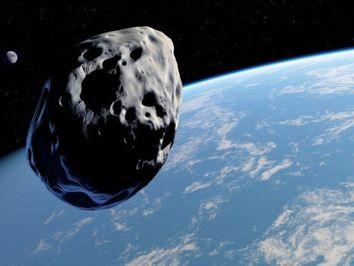 Un asteroide pasará cerca de la Tierra el viernes